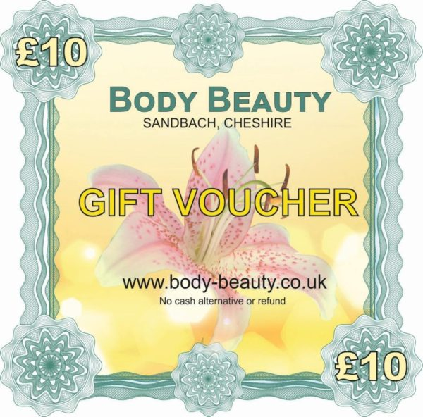 10 pounds gift voucher