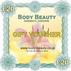 20 pounds gift voucher