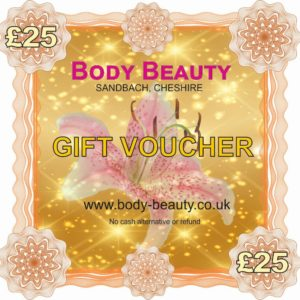 25 pounds gift vouchers
