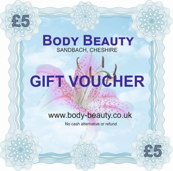 5 pounds gift voucher