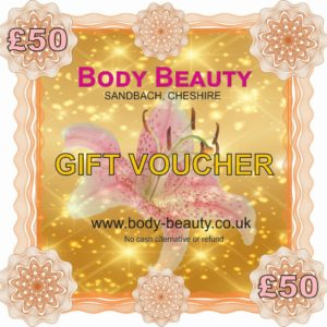 50 pounds gift voucher