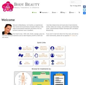 Body Beauty Home Page