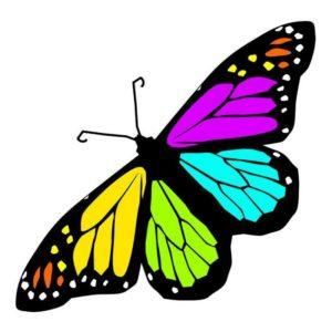IPL rejuvenation butterfly